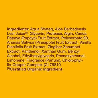 Amazon.com: Alba Botanica, máscara facial, Papaya Enzima 3 ...