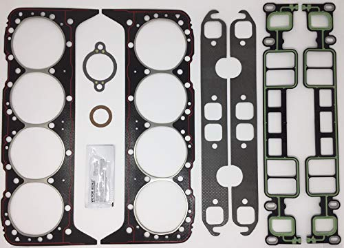 (5.7L, 350 CID Mercruiser, Volvo Penta, GM Marine Cylinder Head Gasket Kit. Replaces Mercruiser 27-75611A03)