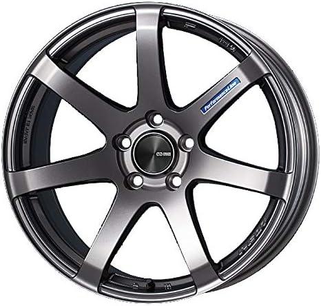 エンケイ (ENKEI) パフォーマンスライン PF07 (Performance Line PF07) 15インチ × 5J PCD100 穴数4 インセット45 カラー:ダークシルバー ホイール単品 (1枚) 軽自動車