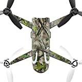 MightySkins Protective Vinyl Skin Decal for Parrot Bebop 2 Quadcopter Drone wrap cover sticker skins TrueTimber Htc Green