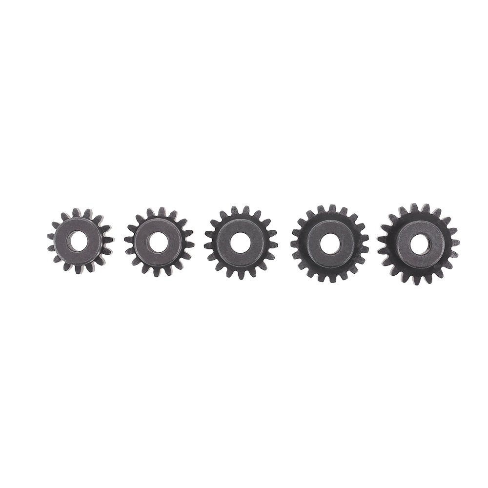 GoolRC GoolRC M1 5mm 15T 16T 17T 18T 19T Pinion Motor Gear Combo Set for 1//8 RC Car Brushed Brushless Motor