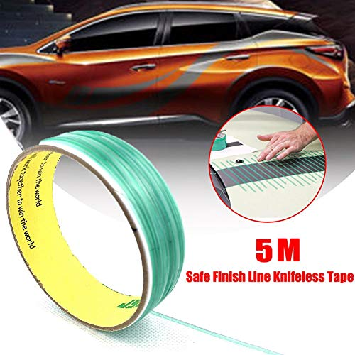 afc72a1a3b5c2 Big-time 5 M Car Wrap Tape,knifeless Tape Vinyl Wrap Cutting Tape Finish  Line Tape,Cutting Tape Roll for Pinstriping and Detailing