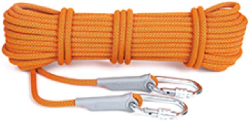 クライミングロープ、70M * 12mm屋外登山サバイバルエスケープ高強度コード安全ロープ多目的万能ロープ(色:オレンジ、サイズ:70m) オレンジ 70m