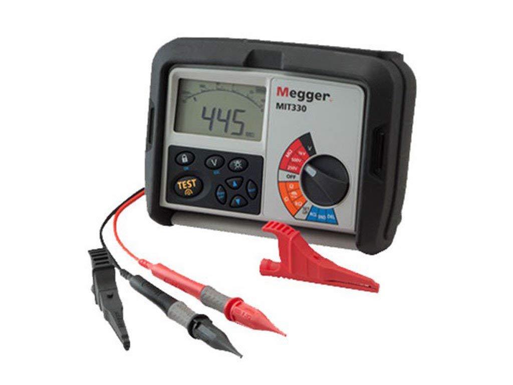 Megger MIT300-EN Insulation Tester 250V 500V Incl:Test Lead