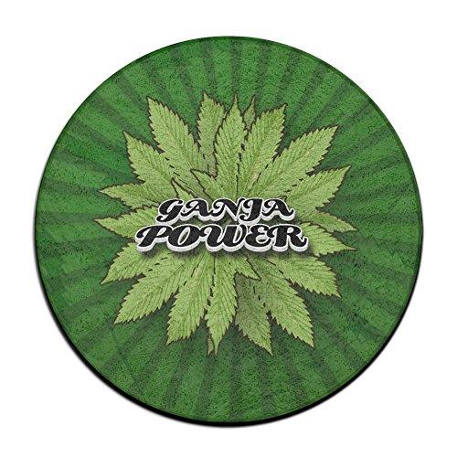 Feimao Ganga Power Non Slip Round Shape Doormat Indoor/Outdoor/Front Absorbent Circular Carpet Round Entrance Rug Floor Mats Shoe Scraper Door Mat Living Room ()