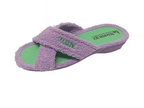 nuevo producto d0d3b 1df4f Zapatillas de Estar por casa/Mujer/Vulca-Bicha/Rizo/Tiras ...