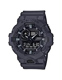 Casio Men's GA-700UC-8ACR G Shock Analog-Digital Display Quartz Grey Watch