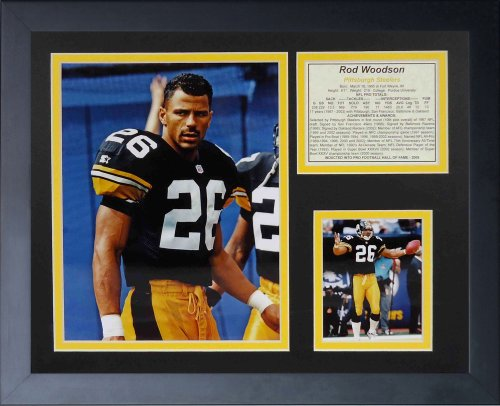 (Legends Never Die Rod Woodson Framed Photo Collage, 11x14-Inch)