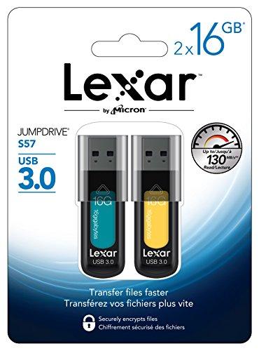 lexar-jumpdrive-s57-16gb-usb-30-flash-drive-ljds57-16gabnl2-2-pack