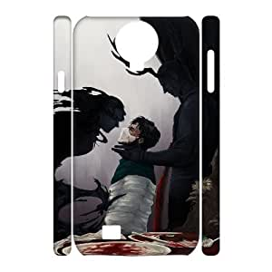 TOSOUL Custom painting Hannibal Phone 3D Case For Samsung Galaxy S4 i9500 [Pattern-1]