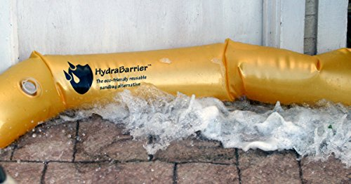 Best Sandbag Alternative - Hydrabarrier Ultra 6 Foot Length 6 Inch Height. - Water Diversion Tubes That Are the Lightweight, Re-usable, and Eco-friendly (Single Unit) (Barrier Water Filled)