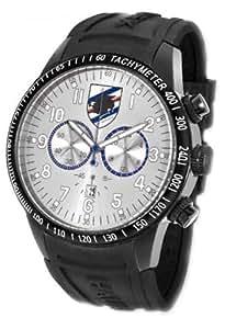 Haurex Italy Men's US300US1 Red Arrow U.C. Sampdoria Chronograph Tachymeter Rubber Watch