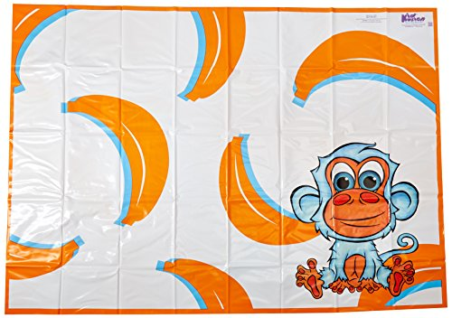 KidKusion High Chair Splat Mat, Orange