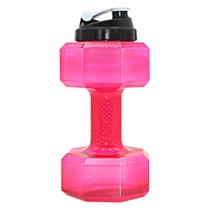 Botella de agua, forma de pesas Power petg 2.2L Water Jug ...