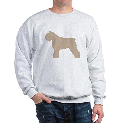 CafePress Fawn Bouvier Des Flandres Sweatshirt - Classic Crew Neck Sweatshirt