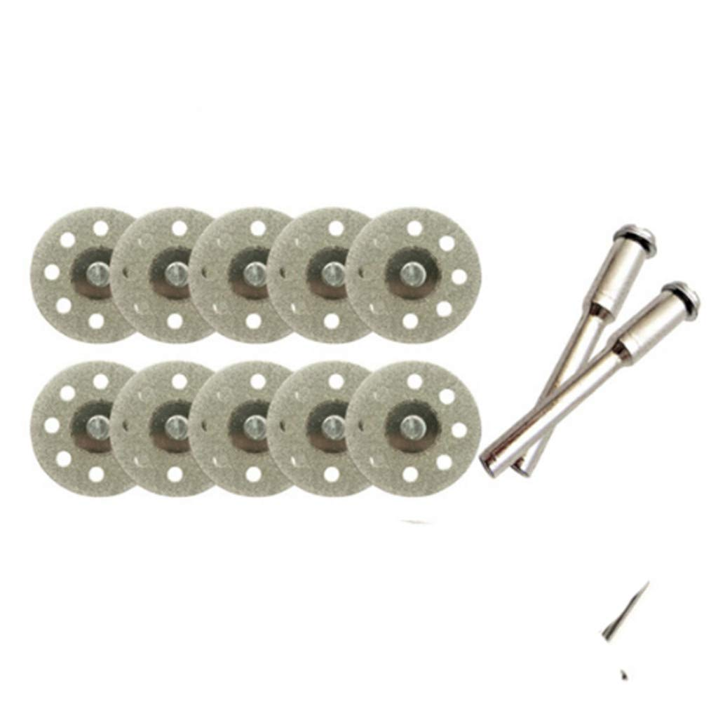 #A 20mm Dkings 20//25//30mm Dischi Diamantati Mini di Tagliante Sega Vetro Gemma di Pietre Preziose e Asta Asse