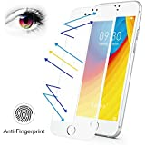 iPhone 7 Plus 8 Plus Matte Screen Protector Tempered Glass, Benks Anti-Glare Anti-Fingerprint Protective Film with 3D Full Coverage Soft Curve Unbreakable Edge (White for iPhone 8 Plus 7 Plus 5.5-Inch