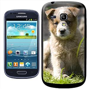 Fancy A Snuggle - Carcasa protectora rígida para Samsung Galaxy S3 Mini i8190, diseño de pastor australiano