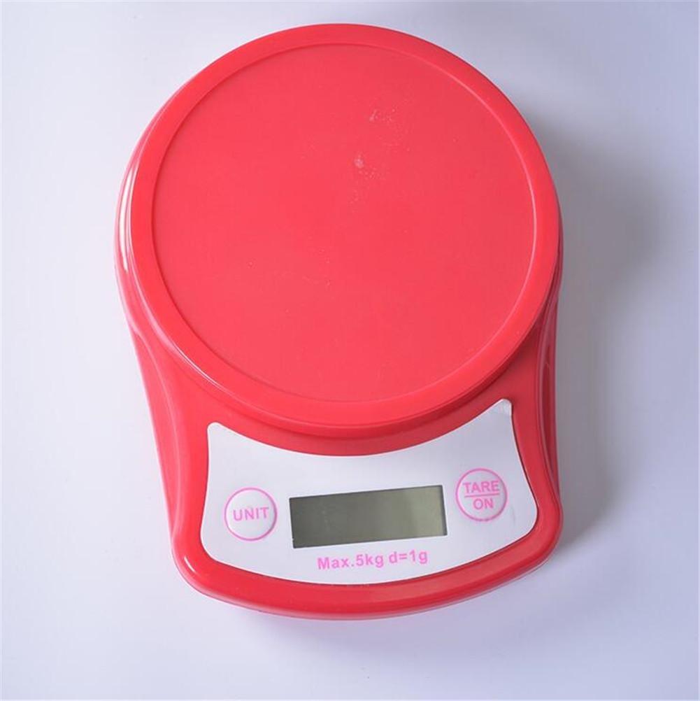 MTTLS 5kg / 1g High-Precision LCD retroiluminado de la cocina electrónica para las escalas electrónicas del alimento del hogar Escalas medicinales de la ...
