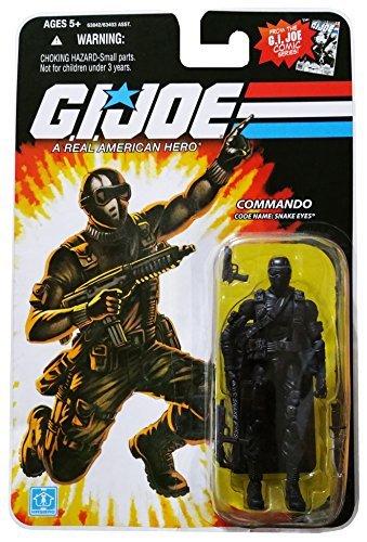 G.I. Joe 25th Anniversary Comic Series Cardback: Snake Eyes (Commando) 3.75 Inch Action Figure