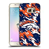 Official NFL Camou Denver Broncos Logo Hard Back Case for Samsung Galaxy Note5 / Note 5