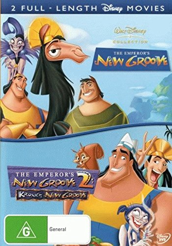 The Emperor's New Groove + The Emperor's New Groove 2 - Kronk's New Groove [NON-USA Format / PAL / Region 4 Import - Australia]