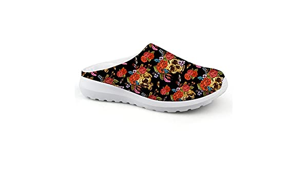 SANNOVO Womens Mens Comfortable Walking Garden Shoes Slippers Quick Drying Sandals
