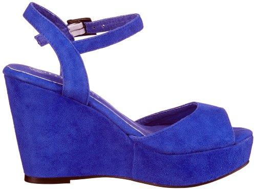 Mimic M131609 Con Sandali Blu blau Blue La Copenhagen Suede Donna electric Zeppa rqATfrE1y