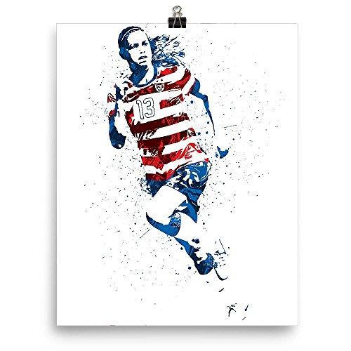 Alex Morgan USA Soccer Poster by PixArtsy