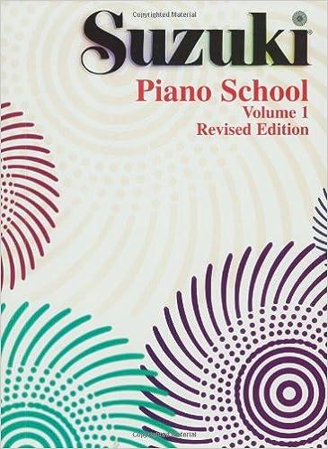 suzuki piano school vol 1 revised edition