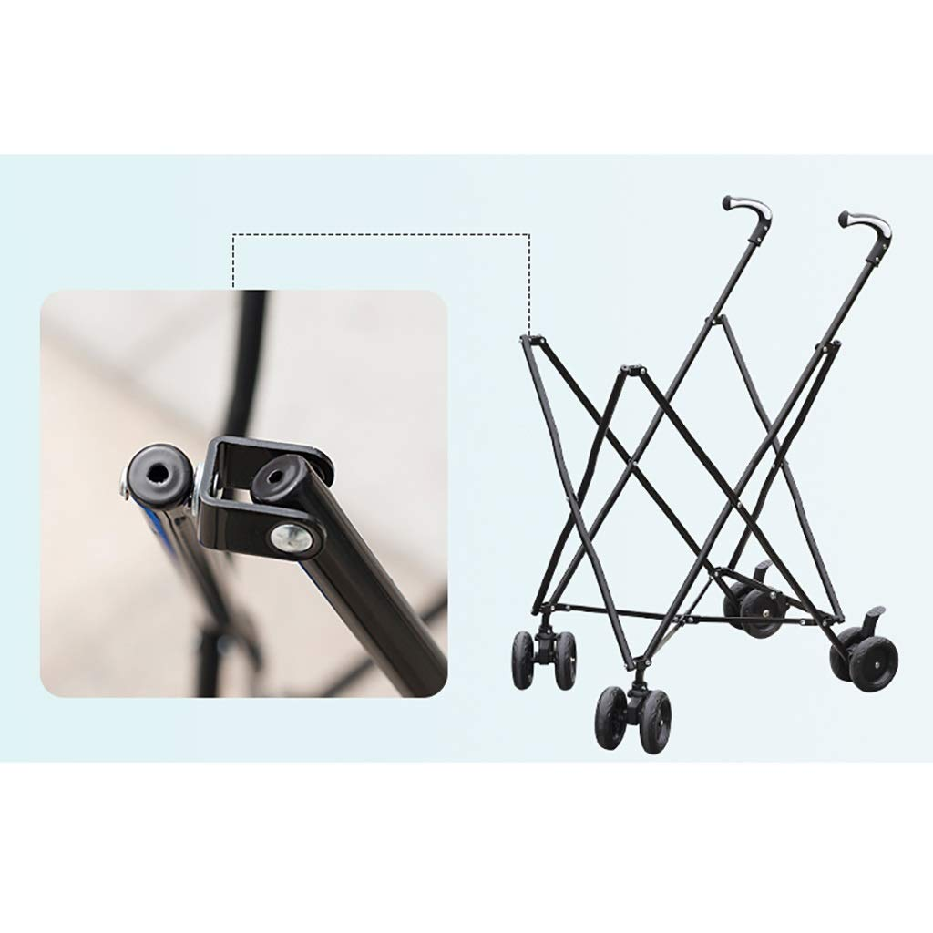 Supermarket Shopping cart, Three Seconds Folding Towel Storage Box Hotel Room Service car Hair Trolley by HT trolley (Image #8)