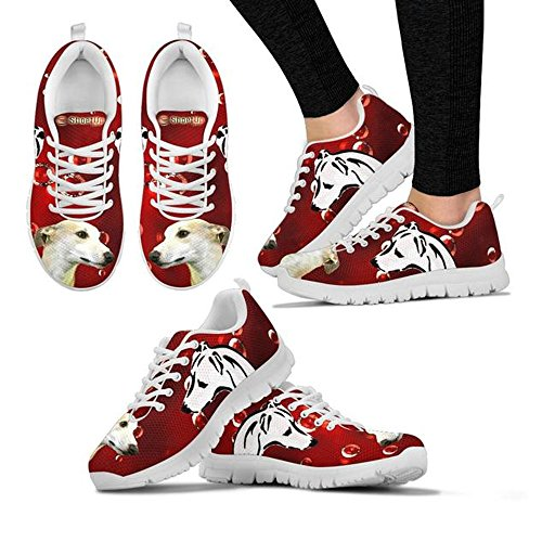 Sneakers Shoes Whippet Custom Your Dog Print Choose Running Shoetup Women's Casual Breed BpOqYw00x