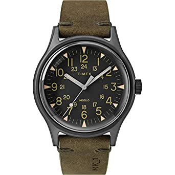 8c4c1bc2ca1a Amazon.com  Timex MK1 Steel Watch - Olive  Clothing