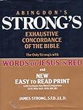 Abingdon's Strong Exhaustive Concordance of the Bible, James Strong, 0687400333