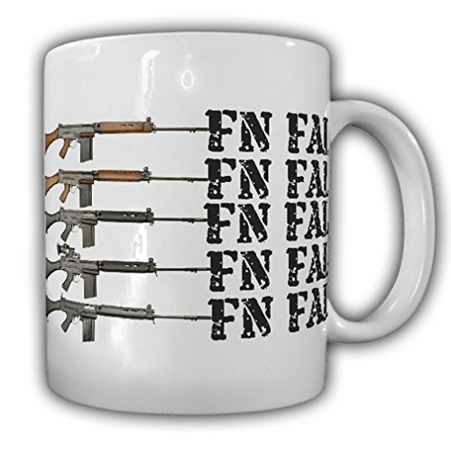 FN FAL assault rifle FN Herstal NATO Bundeswehr South African armed forces weapon Deko Belgium Federal - Coffee Cup Mug