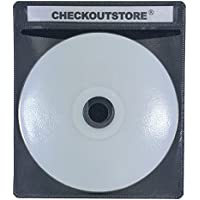 CheckOutStore PREMIUM CD Double-sided Storage Plastic Sleeve