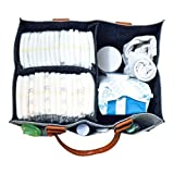 Diaper Caddy Organizer | Portable Nursery Organizer