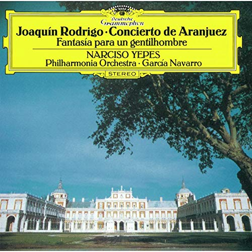SACD : NARCISO YEPES - Rodrigo: Concierto De Aranjuez (Limited Edition, Direct Stream Digital, Super-High Material CD, Japan - Import, Single Layer SACD)