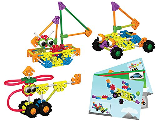 K'NEX 78830 Education KID K'NEX Transportation for Ages 3+ Engineering Educational Toy, 229 Pieces