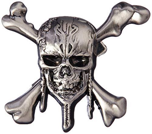 Disney Pirates of The Caribbean - Skull & Cross Bones Pewter Lapel Pin Novelty Accessory