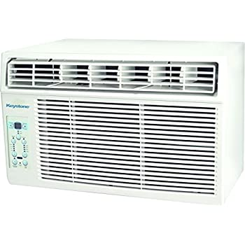 "Keystone KSTAW05C 5000 BTU 115V Window-Mounted Air Conditioner with ""Follow Me"" LCD Remote Control"
