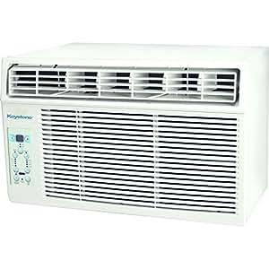 "Keystone KSTAW05C 5000 BTU 115V Window-Mounted Air Conditioner with ""Follow Me"" LCD Remote Control"