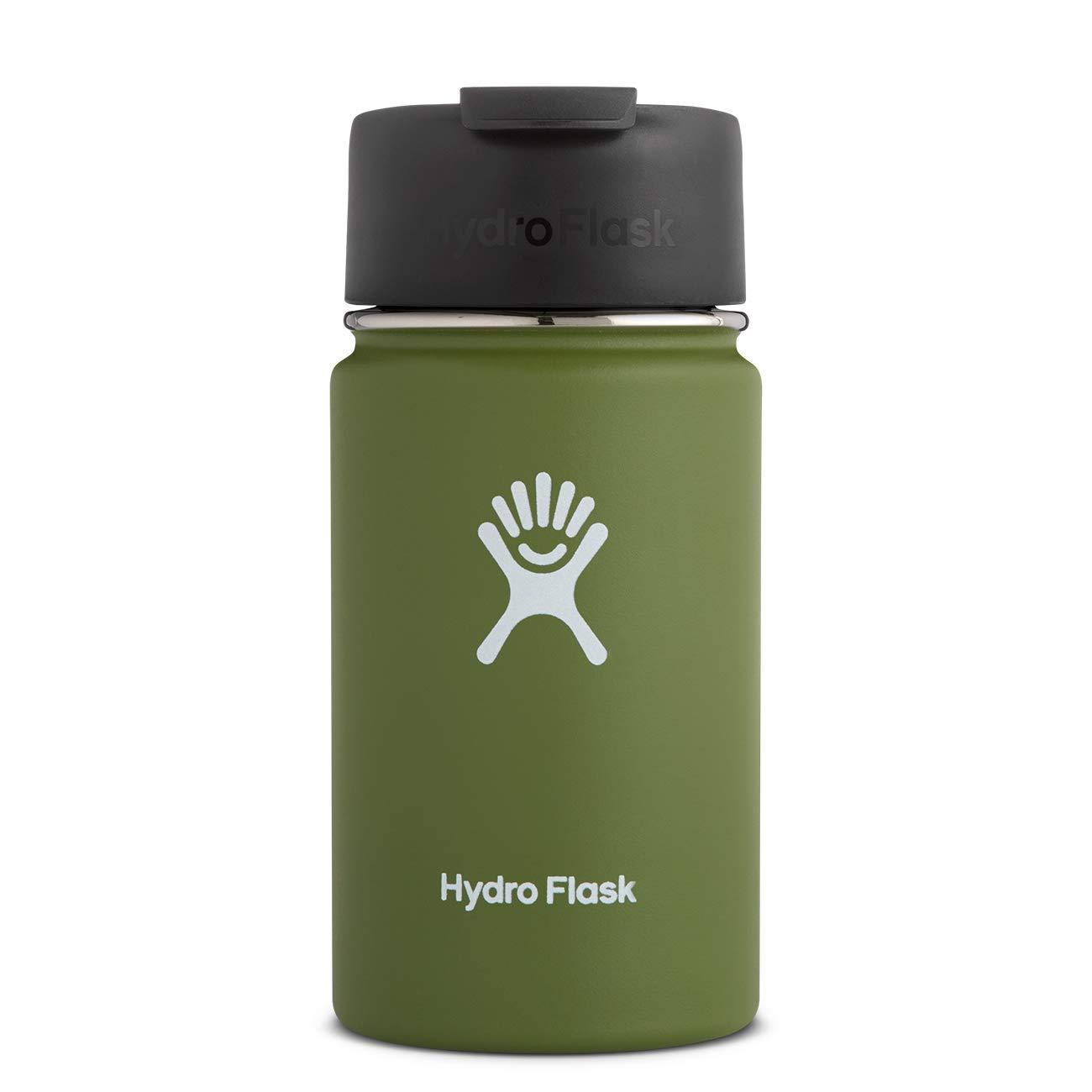 Hydro Flask Travel Coffee Flask - 12 oz, Olive by Hydro Flask