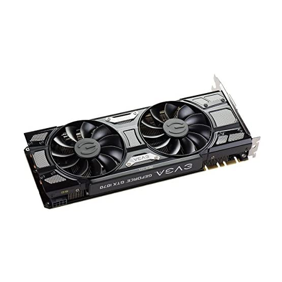 EVGA GeForce 08G-P4-5173-KR, GTX 1070 SC GAMING ACX 3.0 Black Edition, 8GB GDDR5, LED, DX12 OSD Support (PXOC) 51Uzt7CFDvL. SS555