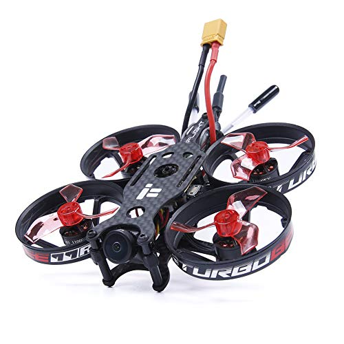 iFlight TurboBee 77R 2-3S Brushless Micro Indoor Racing Whoop 77mm Micro Quadcopter with FrSky R-XSR BNF ()