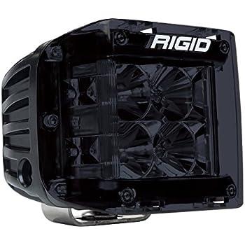 Rigid D-Series Light Cover Smoke 201983