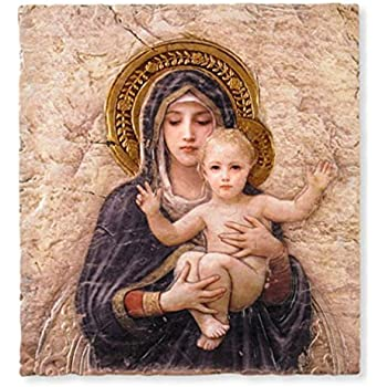 Amazon.com: Sacred Heart of Jesus Christ Icon 7 Inch Wood
