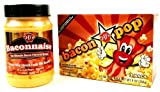 J&D's BaconPOP (9 oz Box) and J&D's Baconnaise (15 oz Jar) in a Gift Box
