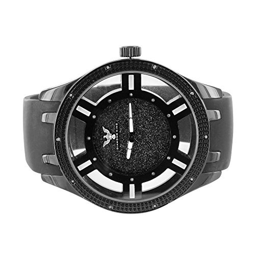 Custom Band Diamond Watch - 8