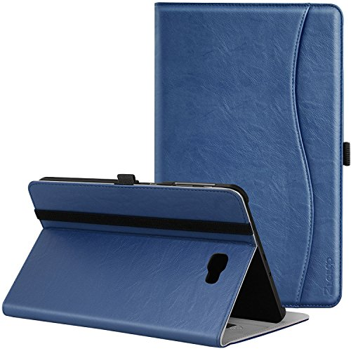 Ztotop Case for Samsung Galaxy Tab A 10.1(2016 NO S Pen Version) - Leather Folio Cover for Samsung 10.1 Inch Tablet SM-T580 T585 with Auto Wake/Sleep and Card Slots, Multiple ()